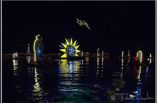 Die Unterwasserwelt Weihnachten am abend des 24 Dezember_fotos von Fabio Iardino
